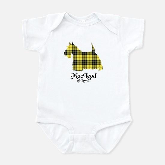 Terrier-MacLeodLewis Baby Light Bodysuit