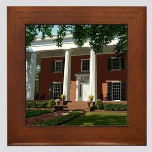 Kappa Alpha Theta Framed Tile