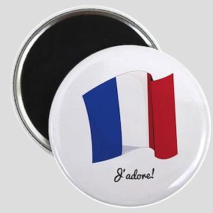 Jadore Flag Magnets