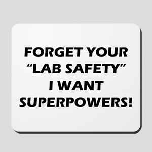 SUPERPOWERS Mousepad