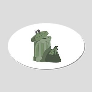 Trash Bin Wall Decal