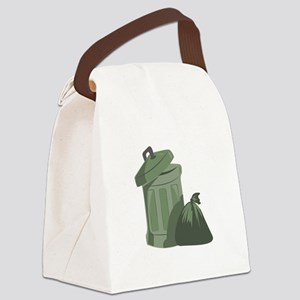 Trash Bin Canvas Lunch Bag