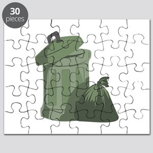 Trash Bin Puzzle
