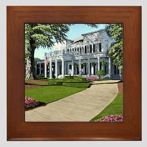 Alpha Gamma Delta Framed Tile