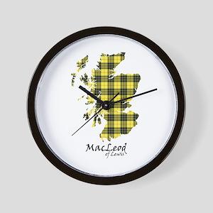 Map-MacLeodLewis Wall Clock