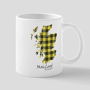Map-MacLeodLewis 11 oz Ceramic Mug