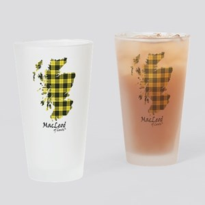 Map-MacLeodLewis Drinking Glass