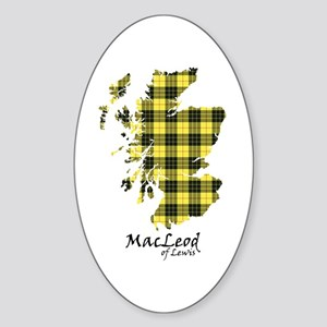 Map-MacLeodLewis Sticker (Oval)