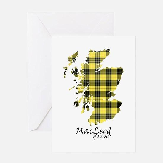 Map-MacLeodLewis Greeting Card