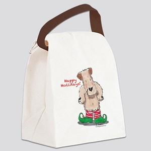 Wheaten Elf Canvas Lunch Bag