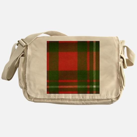 MacGregor Tartan Messenger Bag