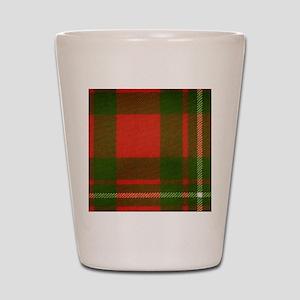 MacGregor Tartan Shot Glass