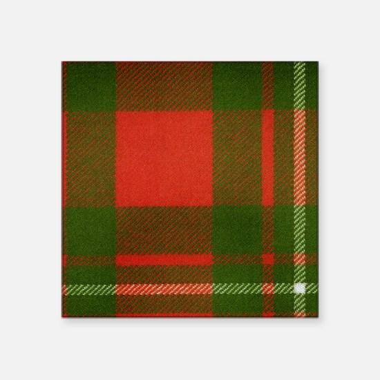 "MacGregor Tartan Square Sticker 3"" x 3"""