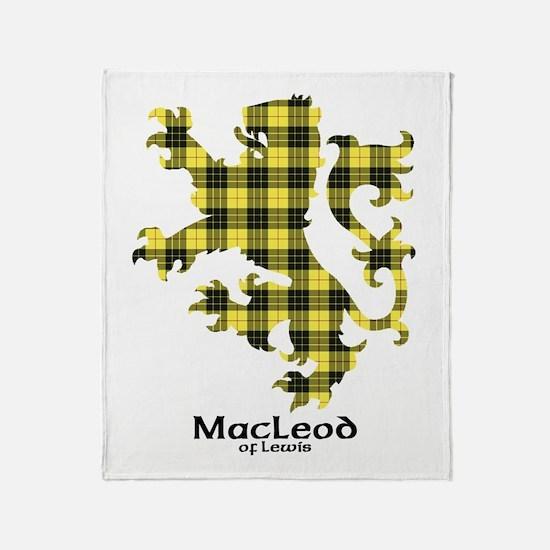 Lion-MacLeodLewis Throw Blanket