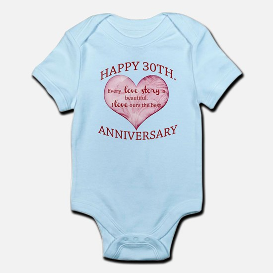 30th. Anniversary Body Suit