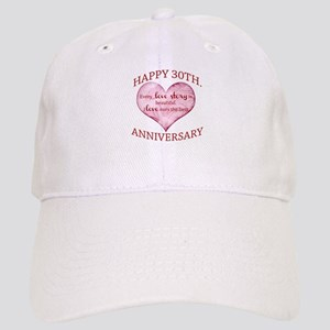 30th. Anniversary Cap