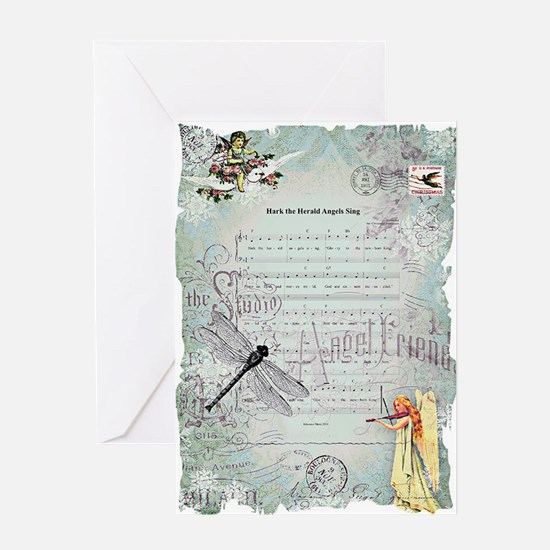 Hark the Herald Angels sing Greeting Cards