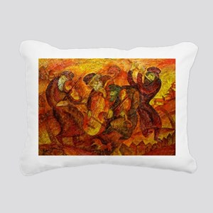Old Klezmer band Rectangular Canvas Pillow