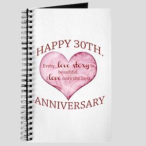 30th. Anniversary Journal