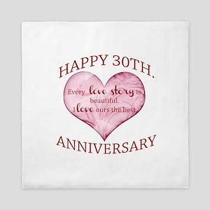 30th. Anniversary Queen Duvet