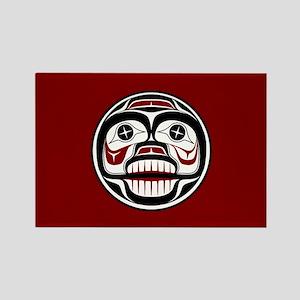 Northwest Pacific coast Haida Weeping skull Magnet