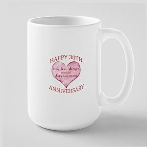 30th. Anniversary Mugs