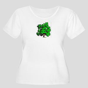 Tree Plus Size T-Shirt