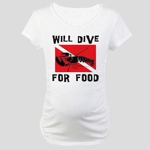 scuba11 Maternity T-Shirt