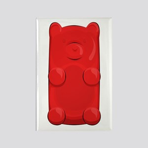 Candy Bear Rectangle Magnets