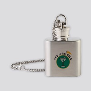 golf3 Flask Necklace