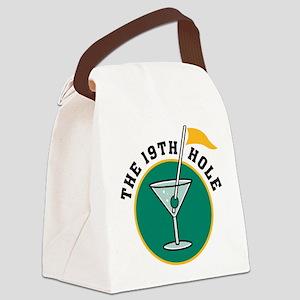 golf3 Canvas Lunch Bag