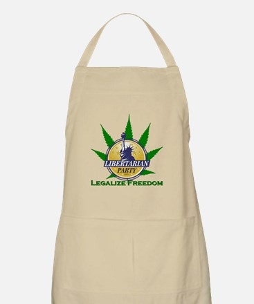 Libertarian Party - Legalize Freedom Apron