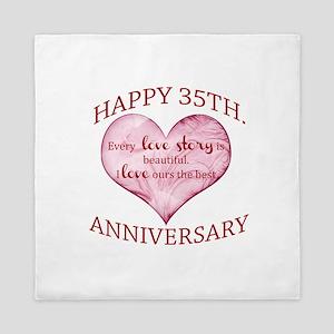 35th. Anniversary Queen Duvet