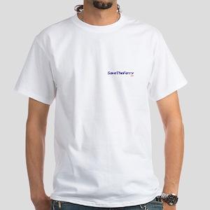 Ferry White T-Shirt