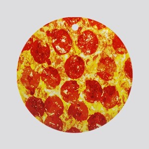 Pizzatime Ornament (Round)