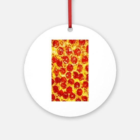 Pizzatime Ornament (Round)