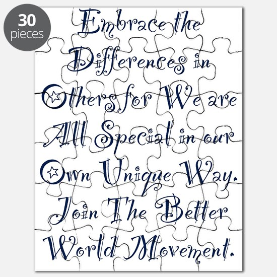 Embrace the Differences Puzzle
