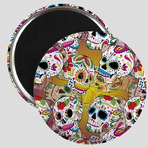 Sugar Skulls Magnets
