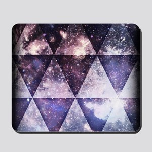 Galaxy Triangles Mousepad