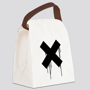 Dripping X Canvas Lunch Bag