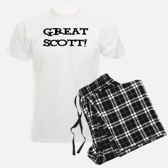 Great Scott 2 (black) Pajamas
