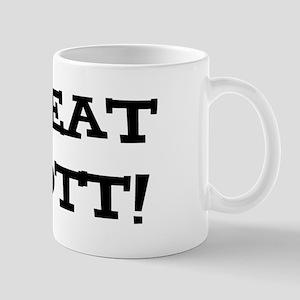 Great Scott 2 (black) Mugs