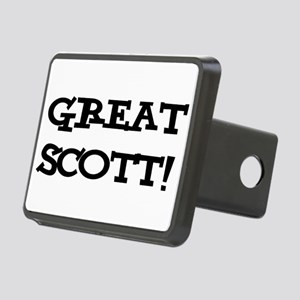 Great Scott 2 (black) Rectangular Hitch Cover