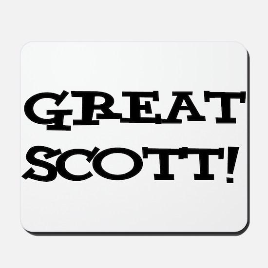 Great Scott 2 (black) Mousepad