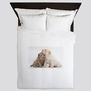Sharpei Queen Duvet