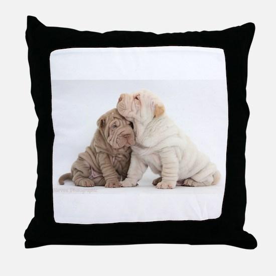 Sharpei Throw Pillow
