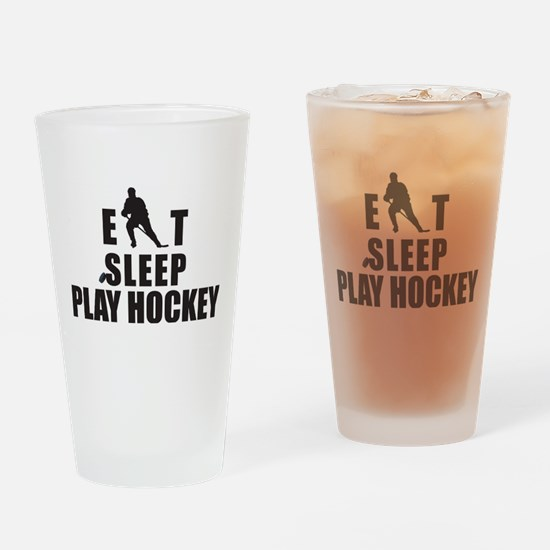 hockey46.png Drinking Glass