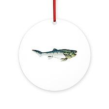 Dunkleosteus fish Ornament (Round)
