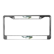 Dunkleosteus fish License Plate Frame