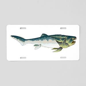 Dunkleosteus fish Aluminum License Plate
